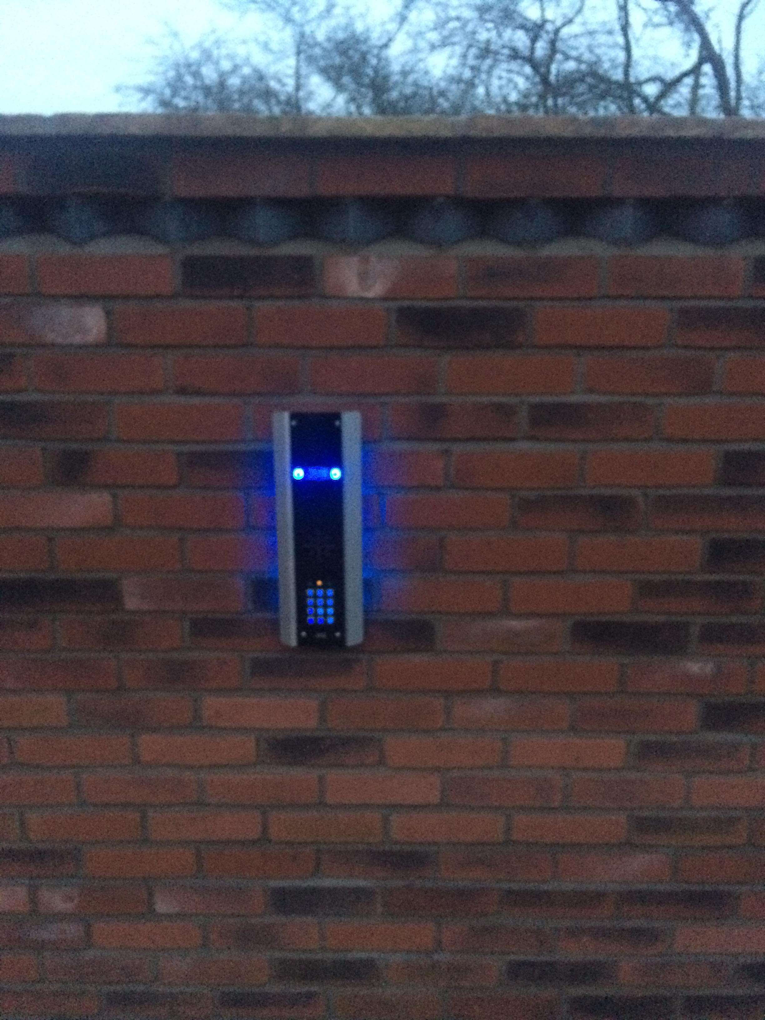 AES GSM INTERCOM APP intercom installed in nottingham