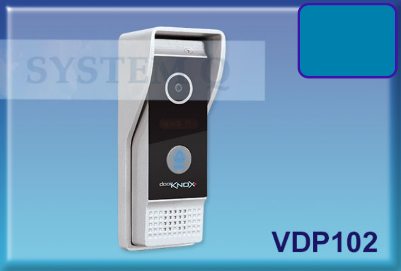 Modern Video Door Entry Camera - Great for commercial use with a wide angle 110 degree viewing angle VDP102