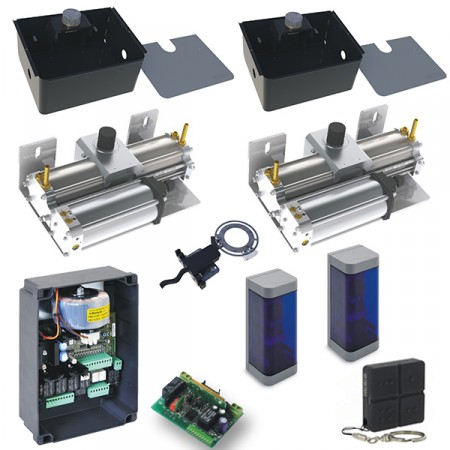 Floor 824 hydraulic underground system ( 24v ) 180 degree rotation & limit switches gate leafs up to 3.0 m