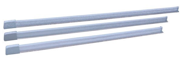 1 x 1000mm Mechanical safety edge 8K2/CAT2 ( grey )