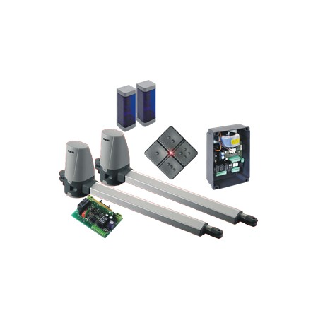 Kuda 200 Swing gate automation Kit (24v) Domestic for up to 2.5M leaf and 200kg