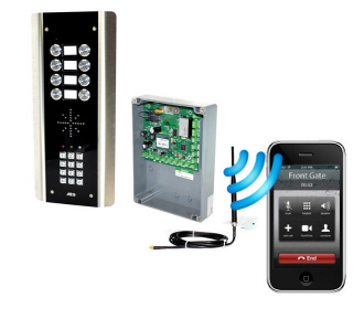 10 Cell-Com PLUS  Advanced GSM Intercoms