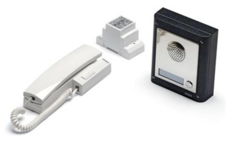 1 x videx 1 way surface mount intercom kit 4K-1S