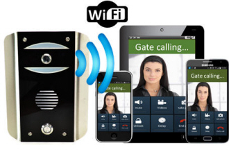 PRED2-WiFi-AB WiFi Gate Intercom for smart phones and tablets.