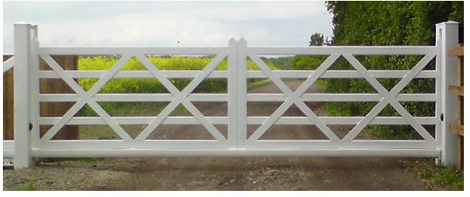 steel five bar automated sliding gate
