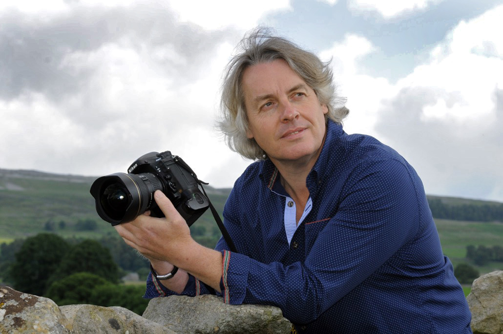 Mike Barker main teacher at the Yorkshire Dales Photography School