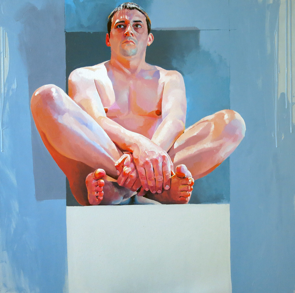 Seated figure (2013)