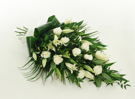 funeral tribute flowers spray Image
