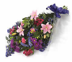Funeral Tribute flowers sheaf Image