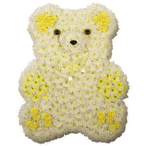 Teddy Bear funeral tribute image