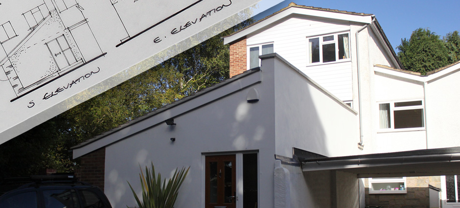 Contemporary town house, Frimley