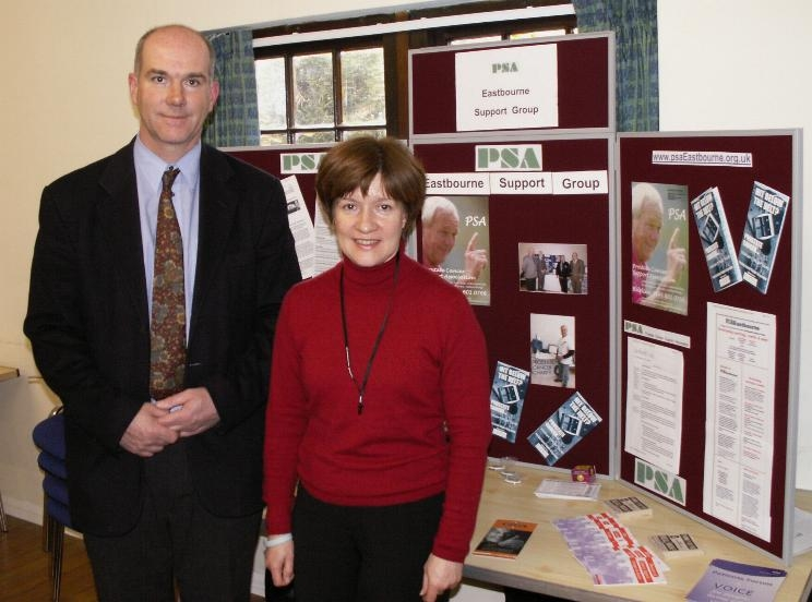 Brother and sister Graham and Debbie Hatfield who started the group in September 2002