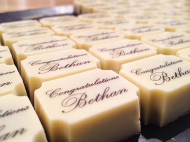 Beautiful handmade, personalised chocolates