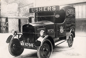 Ushers delivery van