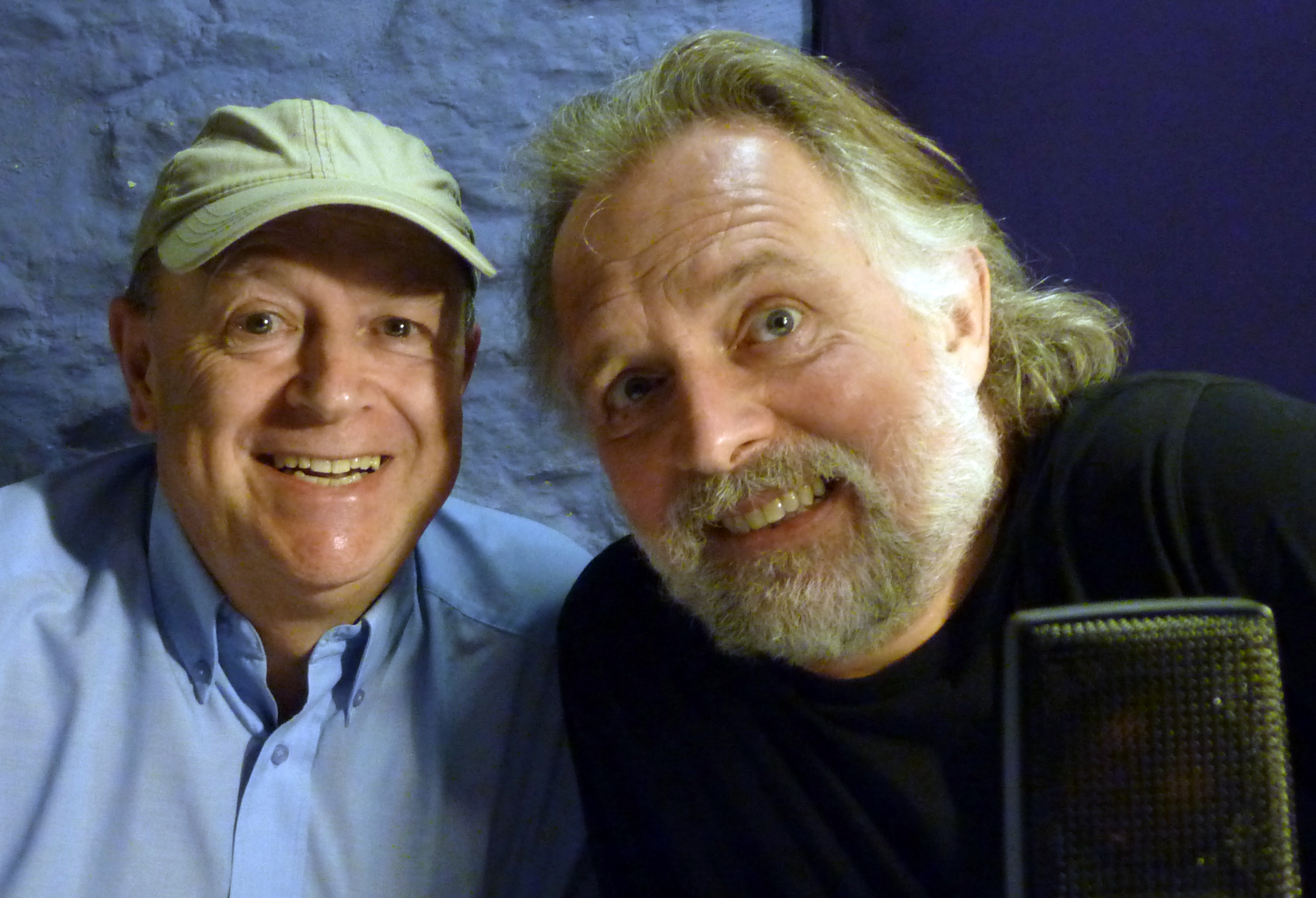 Rik Mayall and Dave Dutton
