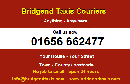 Bridgend Taxis Advert