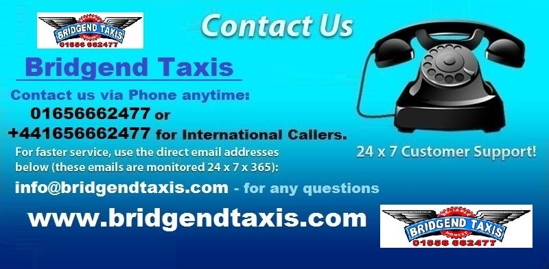 Bridgend Taxis Advert