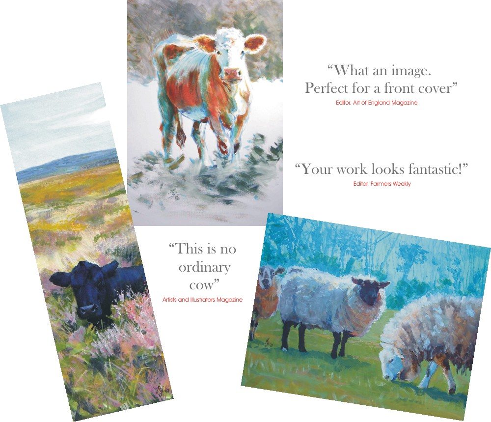 farm animal paintings