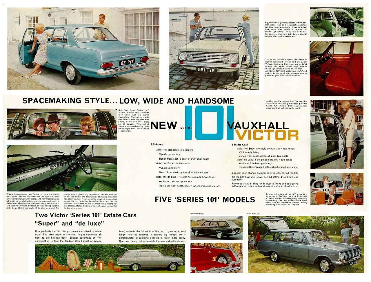 Vauxhall Fc Victor 101 Vx4 90 Brochures Advertising