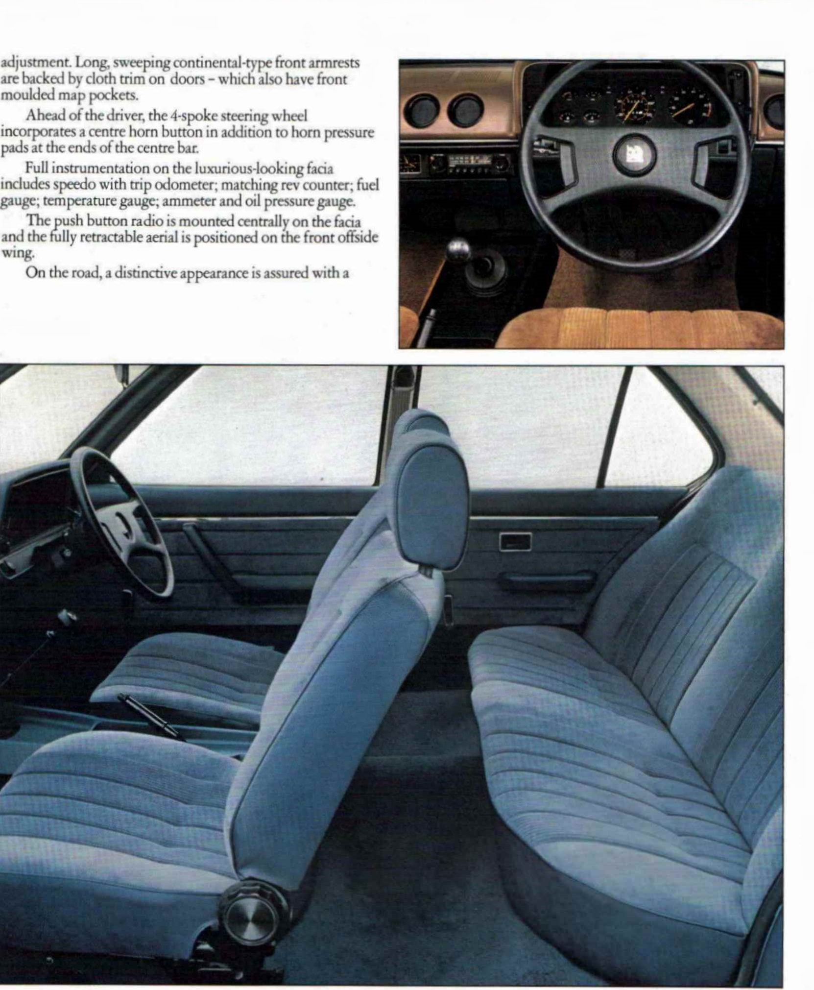 VAUXHALL CAVALIER 1980 MODELS CONFIDENTIAL SALESPOINTERS BROCHUREV2439