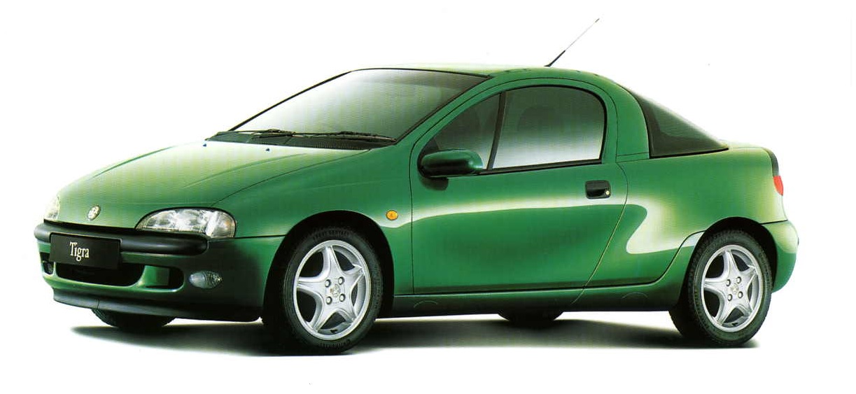 Vauxhall S93 Tigra A Press Releases