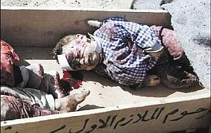 Iraq dead baby