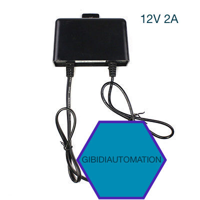 Waterproof Outdoor AC TO DC 12V 2A Power Supply Adapter