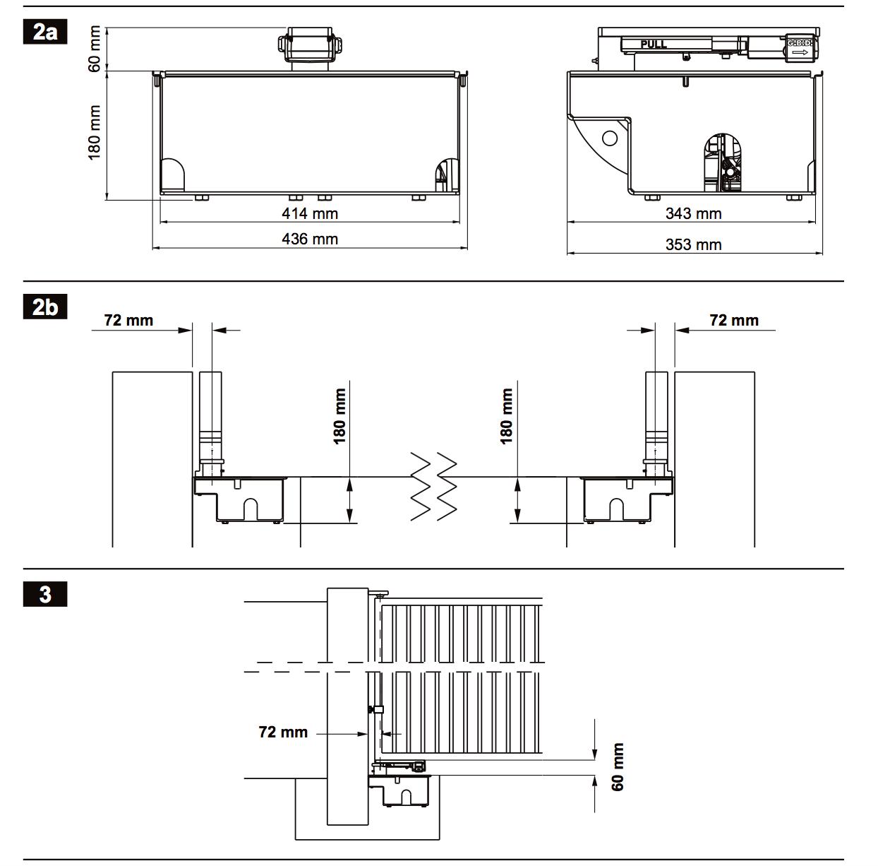 GIBIDI 610 FOUNDATION FLOOR BOX