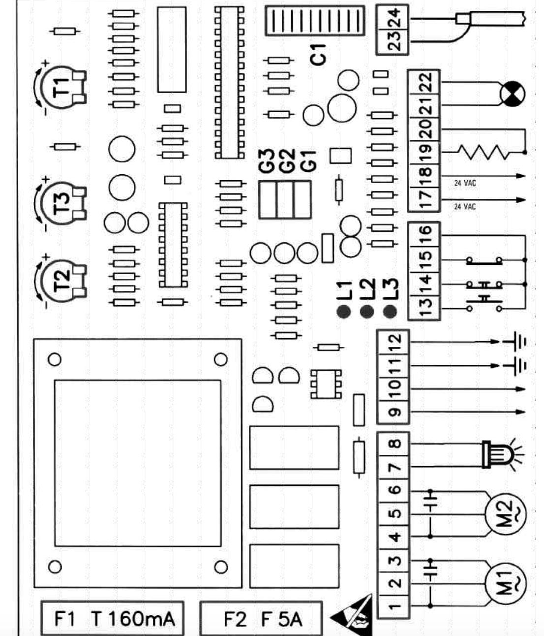 PCB 1802 C GI.BI.DI. PLUS2 GIBIDI