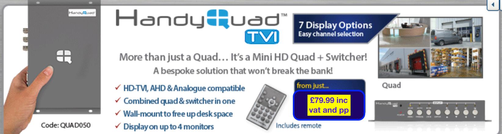 handy quad HDTI to analogue styluscom video intercom