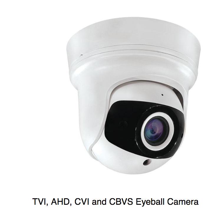 2 x CCTV camera AHD,CVI, TVI and analogue See610w