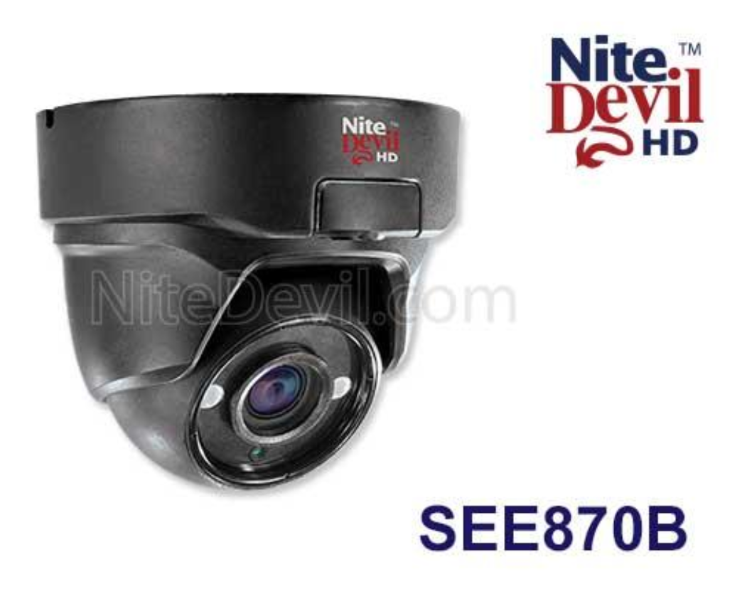 1 x CCTV CAMERA NiteDevil AHD,CVI, TVI and analogue see870b