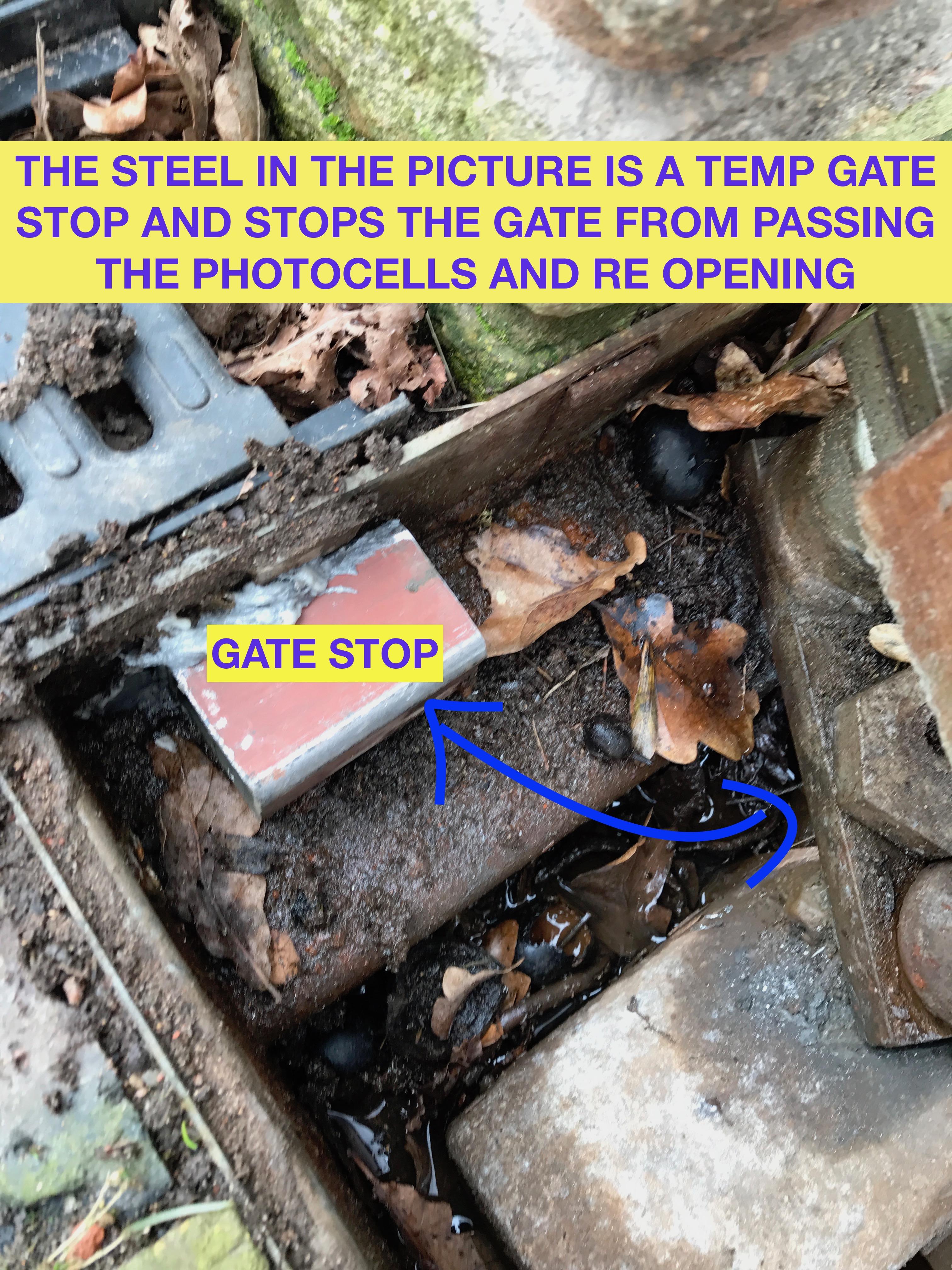 Sheffield gibidi gate repairs