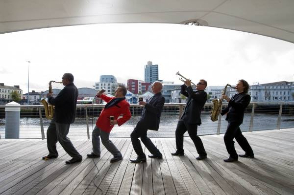 5 Piece Band, Best Irish Weddings, Festivals Jazz Swing Contemporary swing cats of Ireland