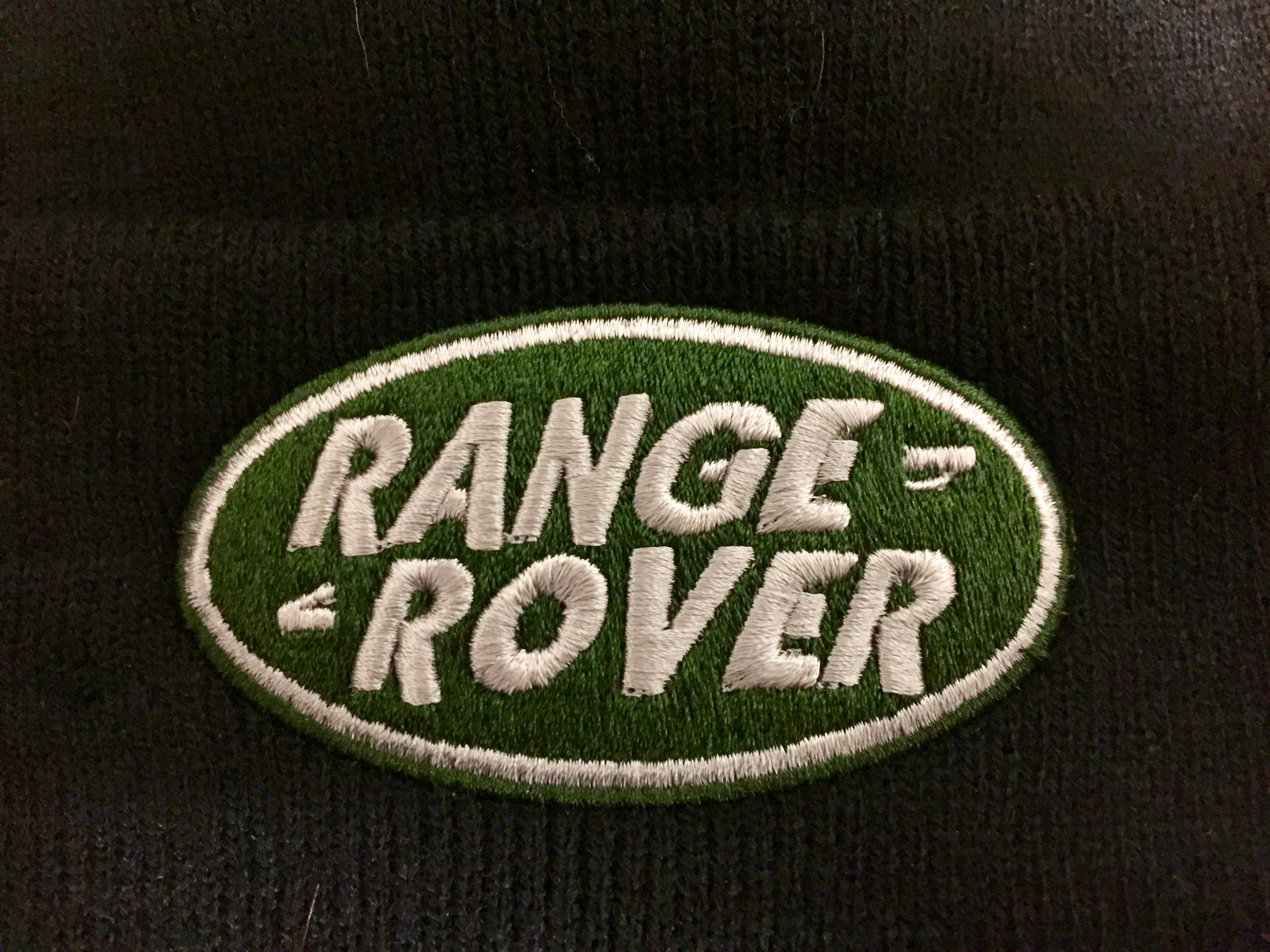 Design t shirt embroidery - Land Rover Range Rover Pic2stitch Custom Logo Embroidery Digitizing Service Clacton On Sea