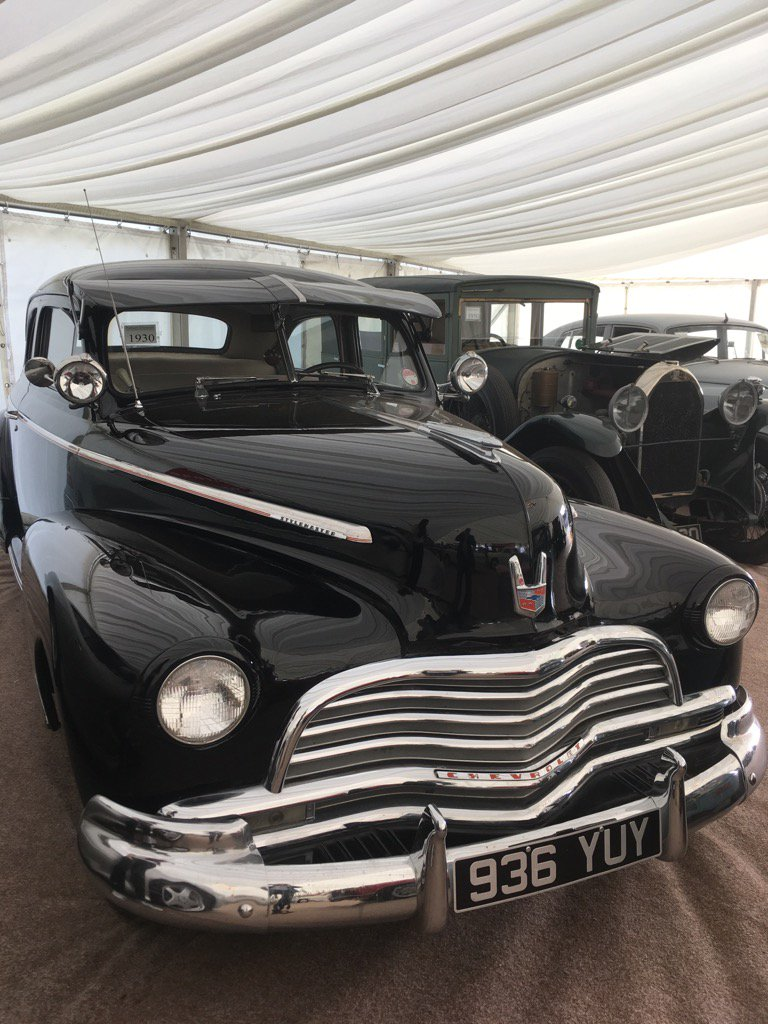 One of a private collection of vehicles sold at auction for a client at £185,000.