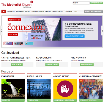 Methodist UK Website