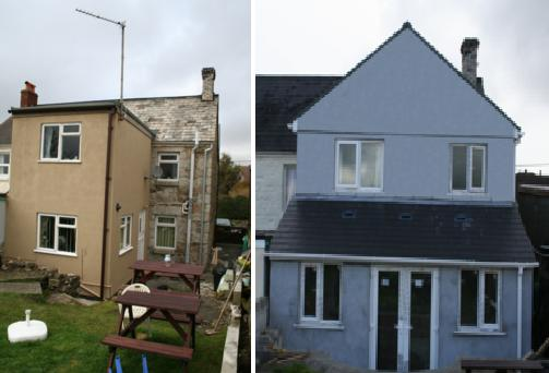 Refurbishment & Enlargement of Existing Extension