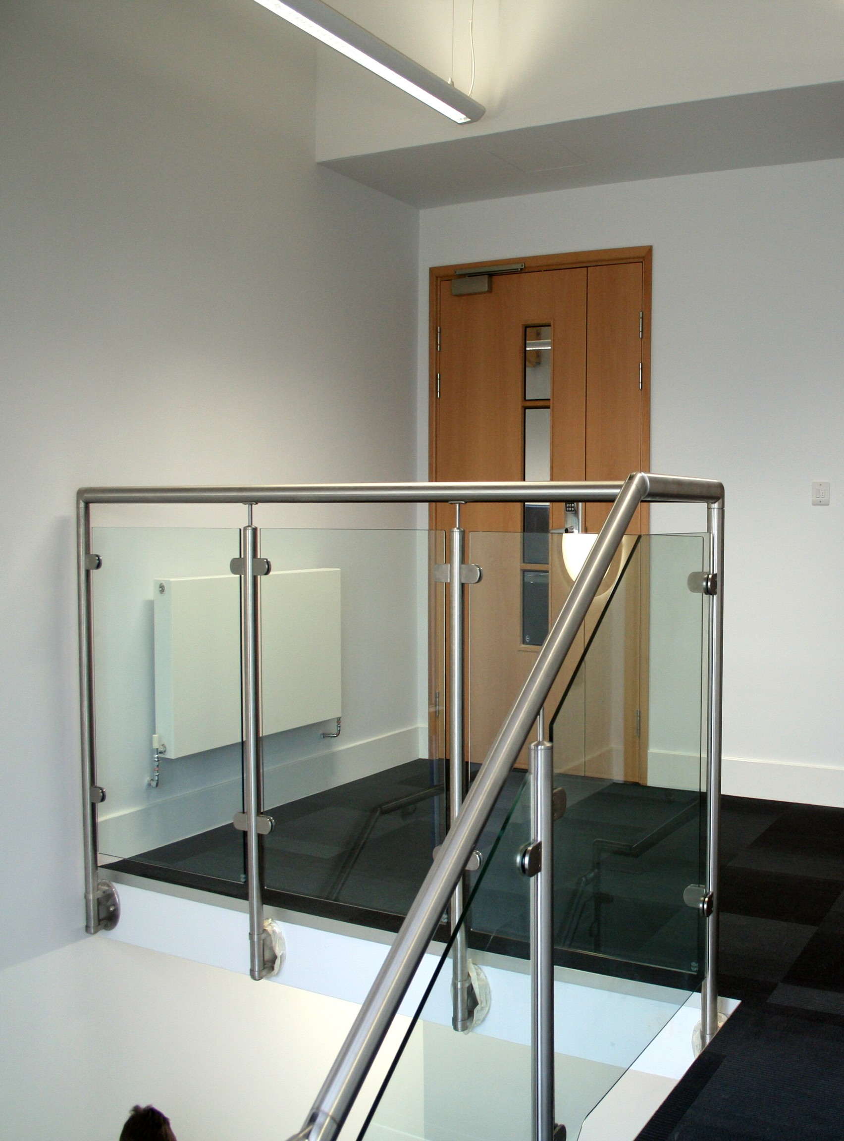 Office Interior Stairwell Fit Out