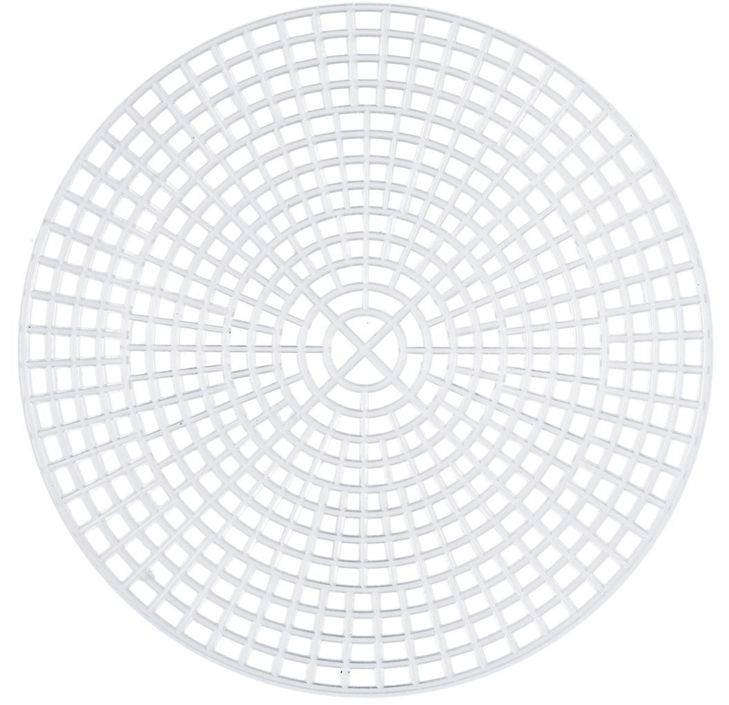 Plastic Canvas 7mesh - Circle, 11.5cm, pack of 10