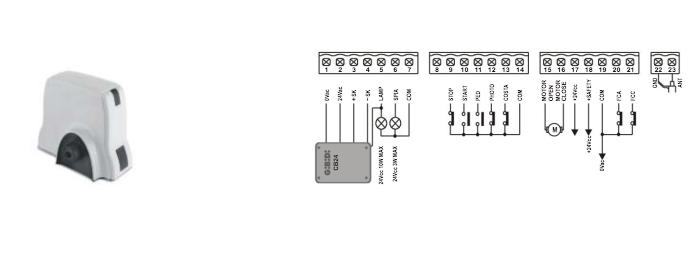 GIBIDI SC24 CONTROL PANEL WIRING