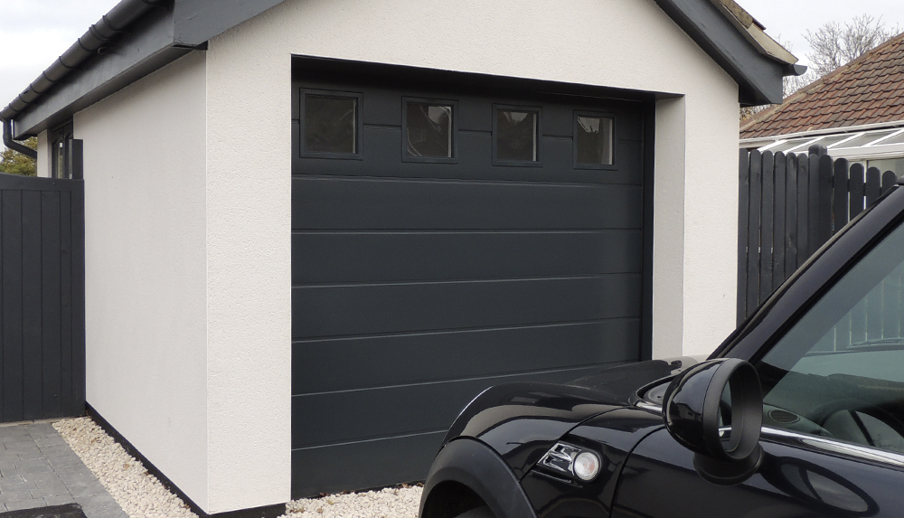 Sectional Garage Door Gallery - Garage Door Solutions ltd