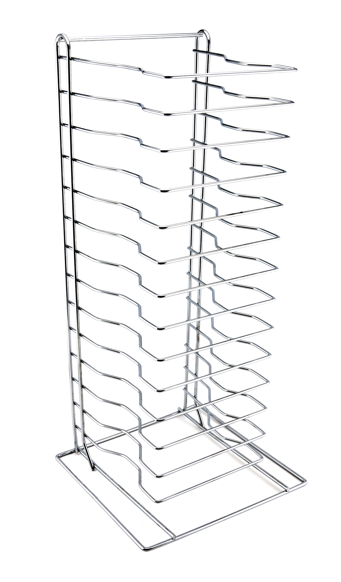 Genware Pizza Rack/Stand 15 Shelf