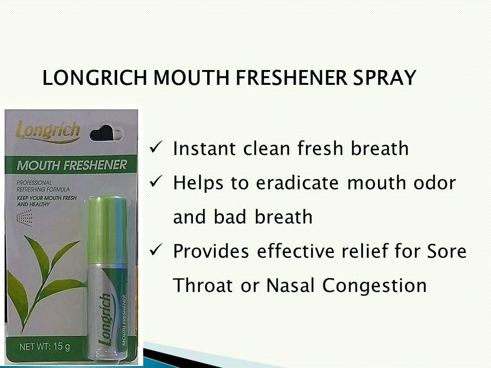 Longrich Mouth freshener newjpg