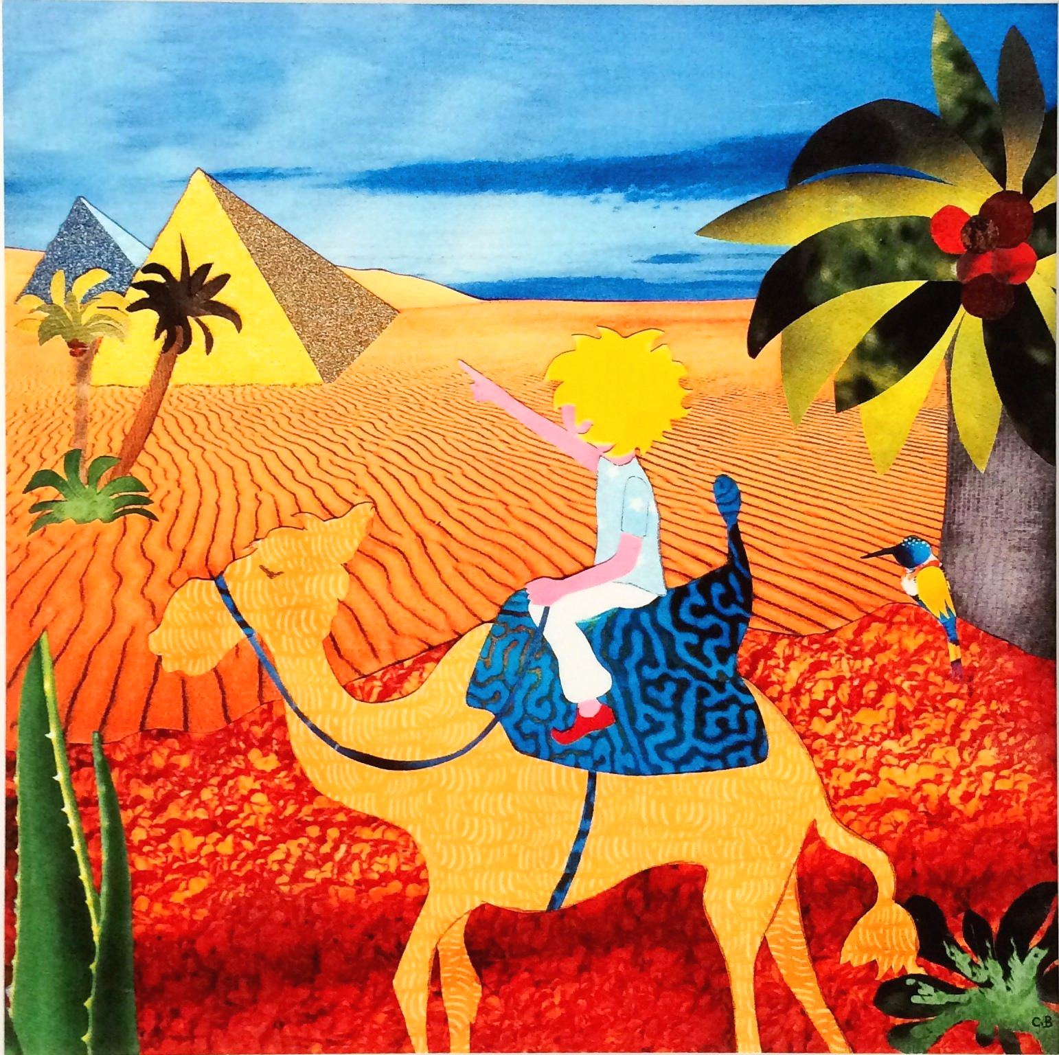 Camel ride - little boy