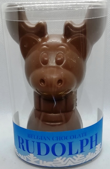 BELGIAN MILK CHOCOLATE REINDEER 180G