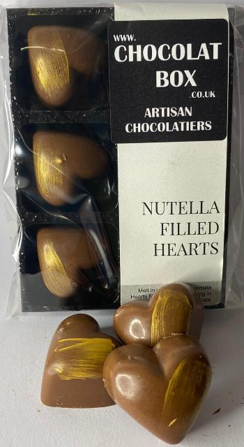 MILK NUTELLA FILLED HEARTS
