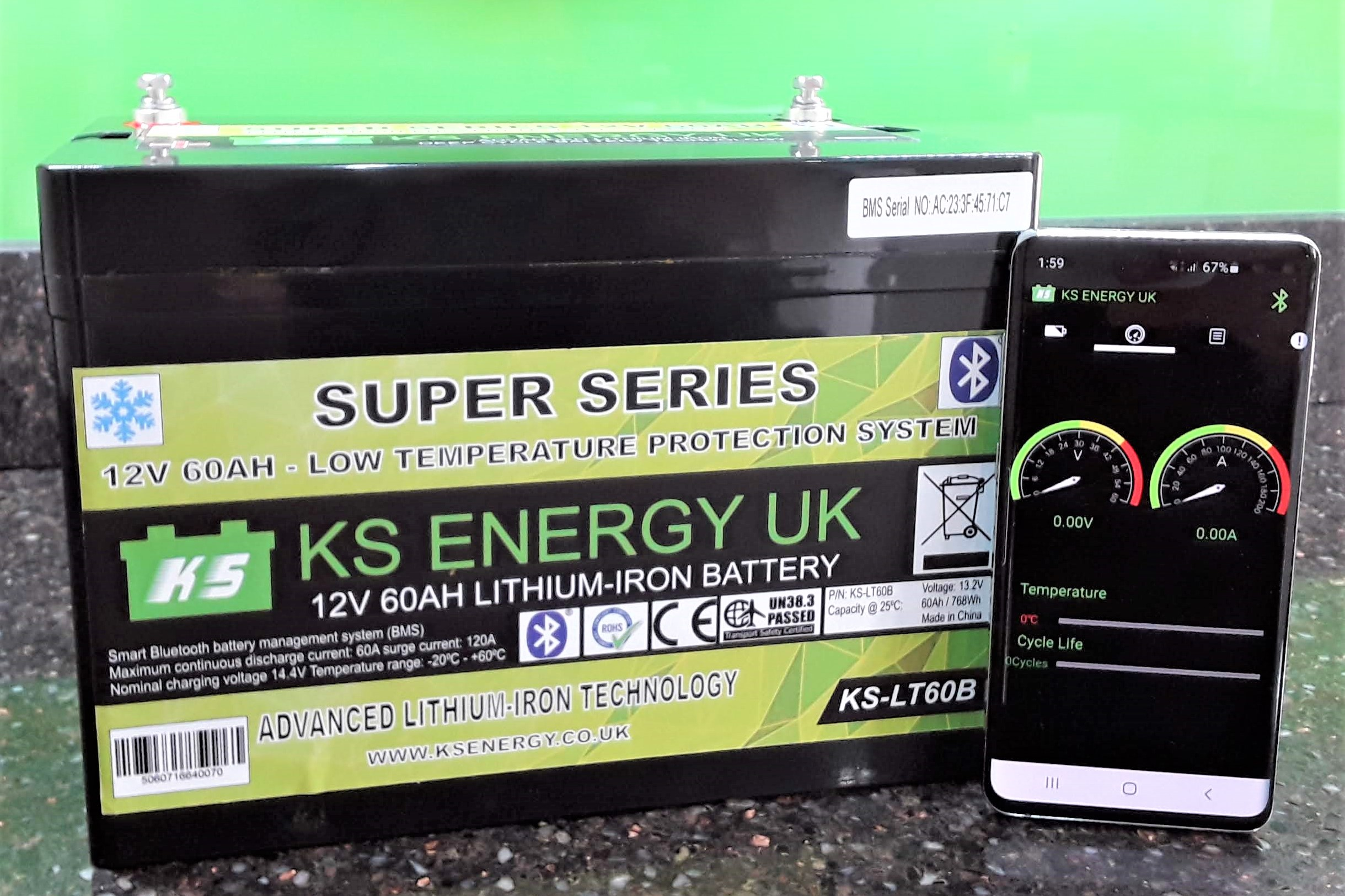 Our new range of Smart lithium batteries have arrived !