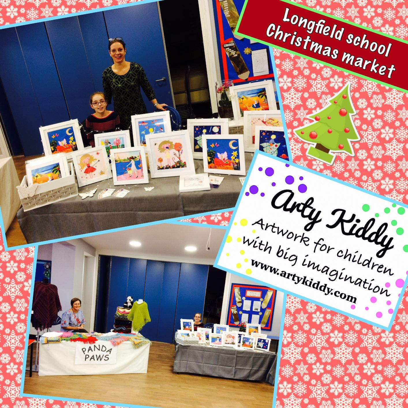 Longfields Primary School Christmas market, Bicester