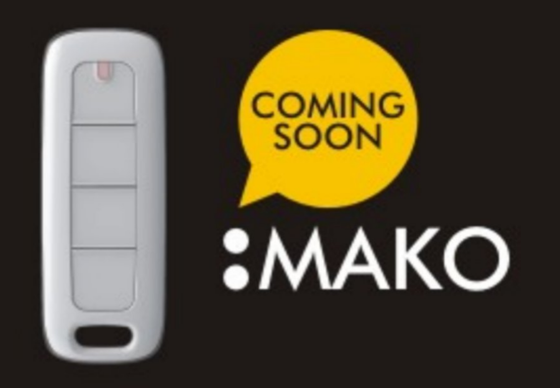 New Mako Gibidi Remote fob